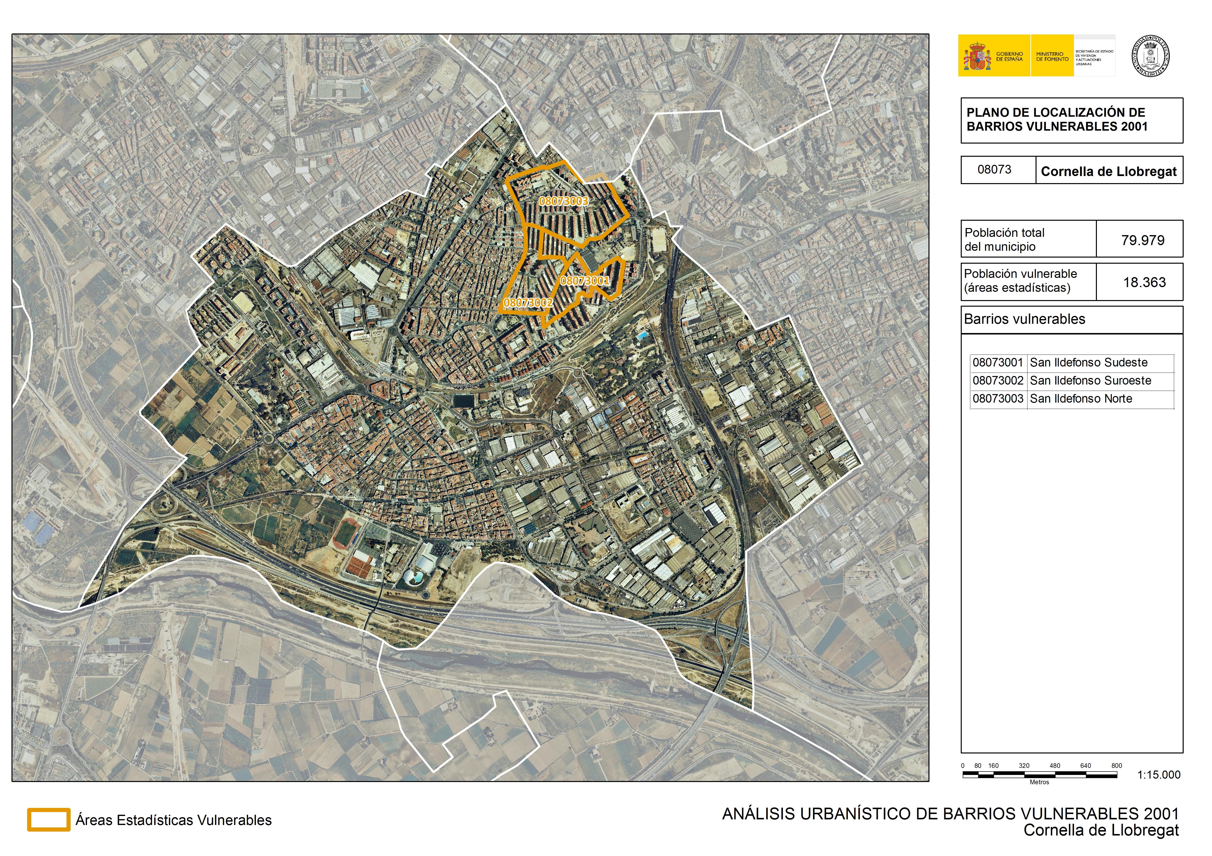 Cornella De Llobregat Mapa.Mapa Guia De Cornella De Llobregat