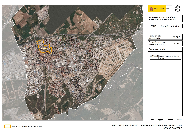 Analisis Urbanistico De Barrios Vulnerables Torrejon De Ardoz