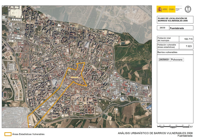 Analisis Urbanistico De Barrios Vulnerables Fuenlabrada