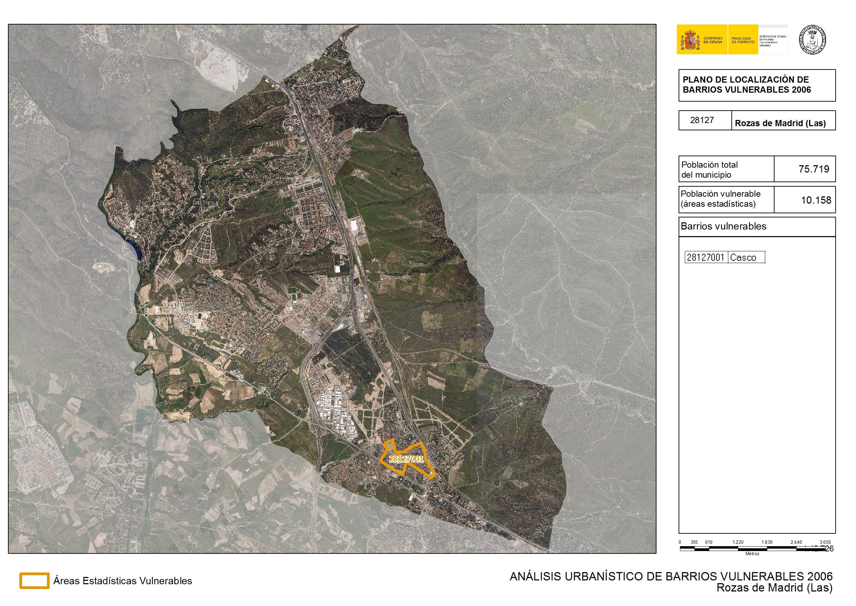 Las Rozas Madrid Mapa.Analisis Urbanistico De Barrios Vulnerables Las Rozas De