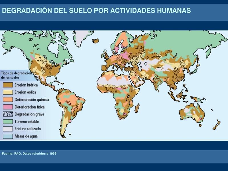 Documentaci n gr fica sobre sostenibilidad impacto en for Informacion sobre el suelo