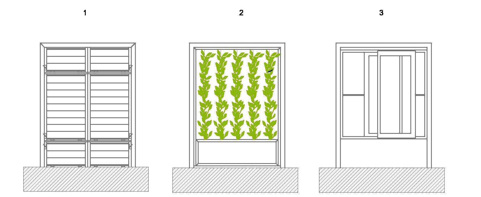 Sistemas vegetales que mejoran la calidad ambiental de las for Muro verde sistema constructivo